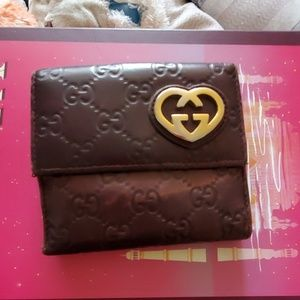 Gucci woman wallet authentic